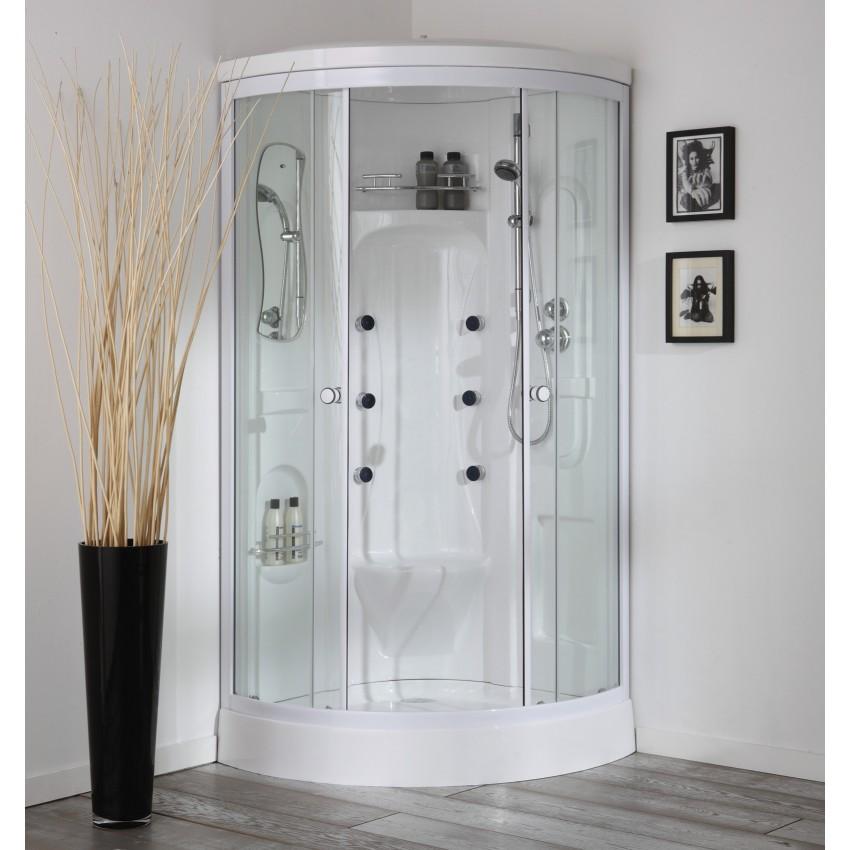 Cabina doccia idromassaggio con sauna Vesuvio.