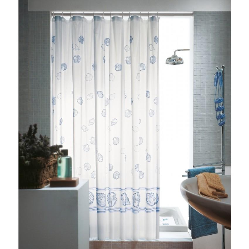 Tende doccia tessuto vinilico mediterraneo blu kv blog - Tende per doccia in tessuto ...