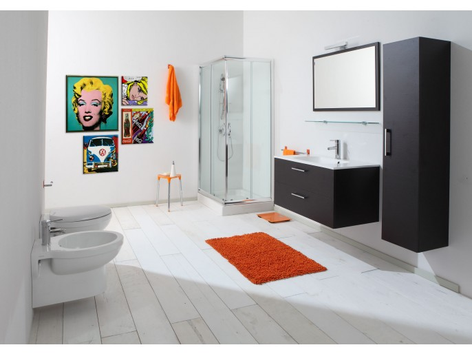 l'arredo del bagno contemporaneo
