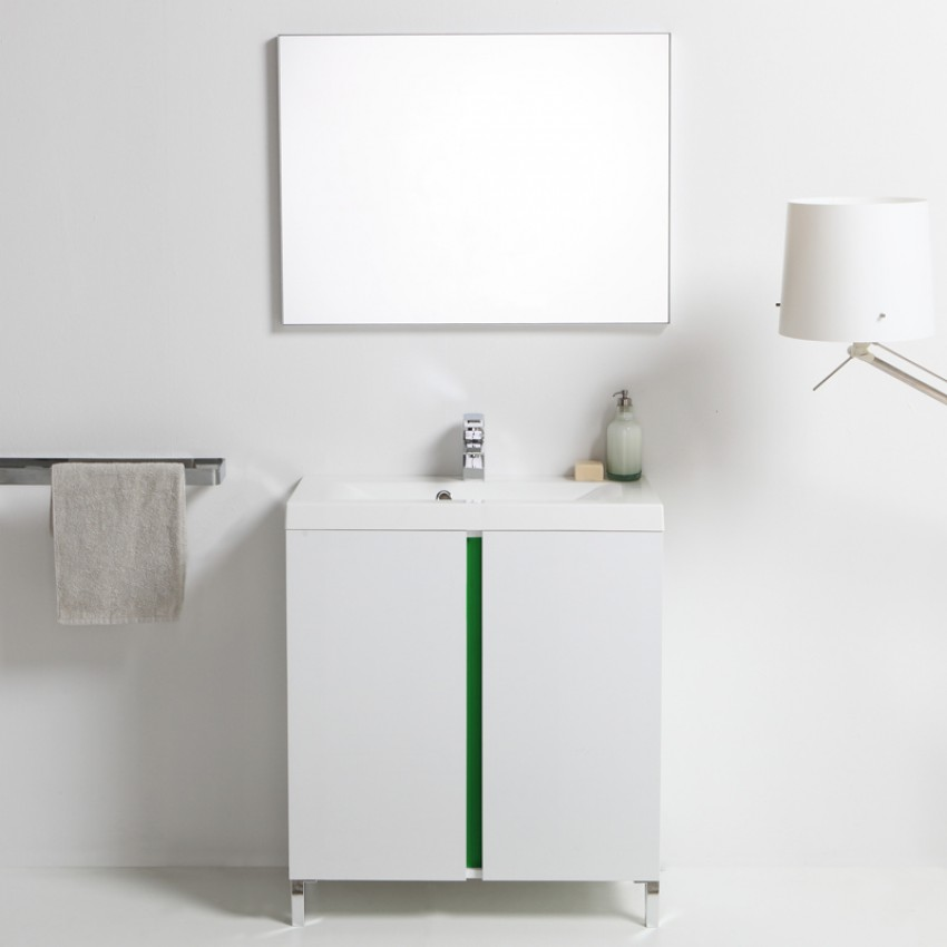 Mobili bagno soluzioni per un bagno minimal kv blog - Soluzioni per gradino in bagno ...