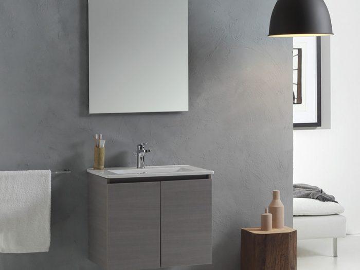 mobile bagno sospeso compatto