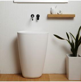 lavabo a colonna monoblocco