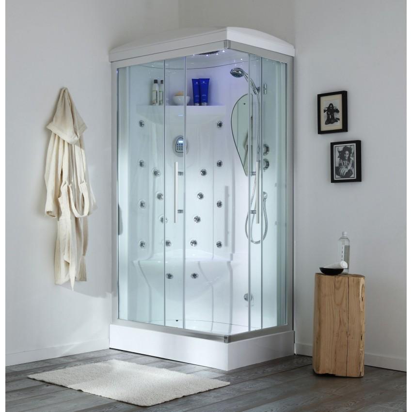 cabina doccia idromassaggio 70x90 Iride sinistra
