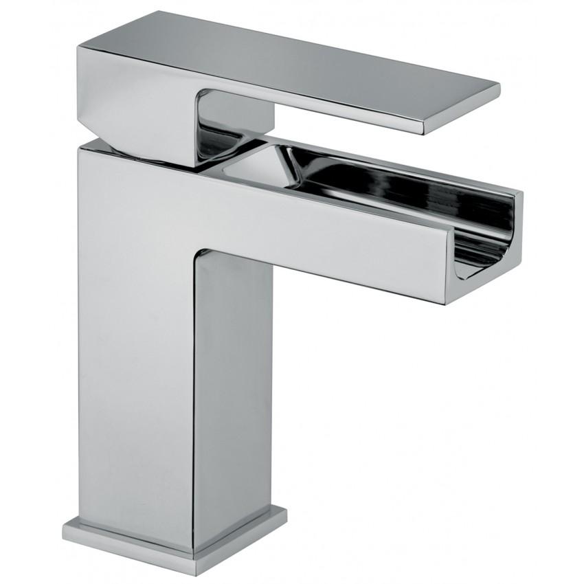 rubinetto bagno design cascata