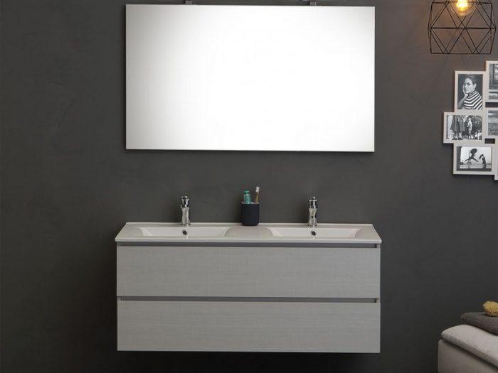 mobile bagno grigio frassino da 120 cm