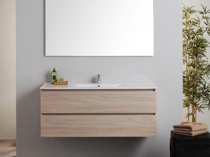 mobile bagno effetto legno