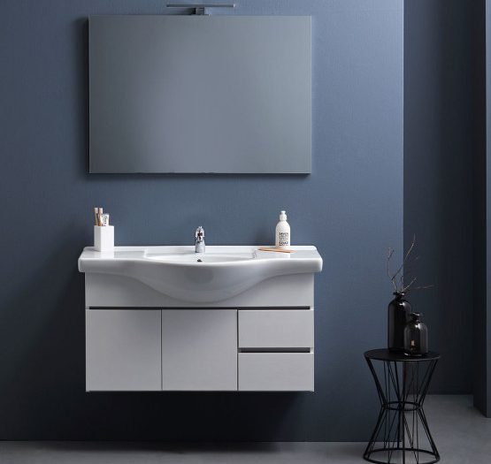 mobile bagno sospeso Silvia 105 cm
