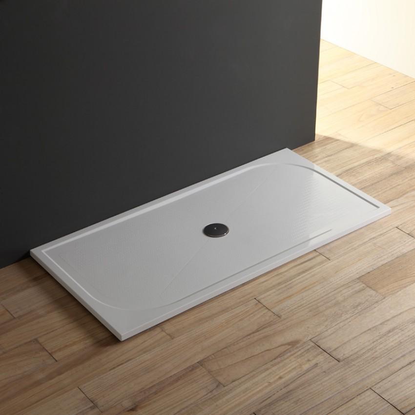Piatto in marmo resina ultra sottile 80x170 cm