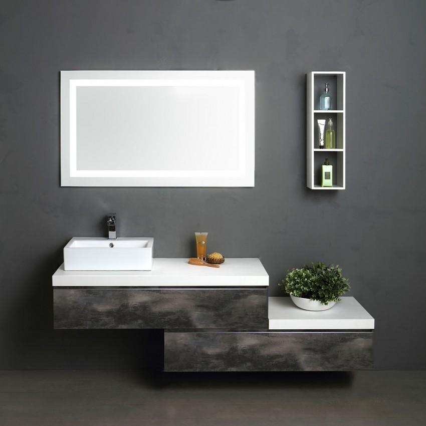Un mobile componibile per un arredo bagno unico kv blog for Arredo bagno componibile