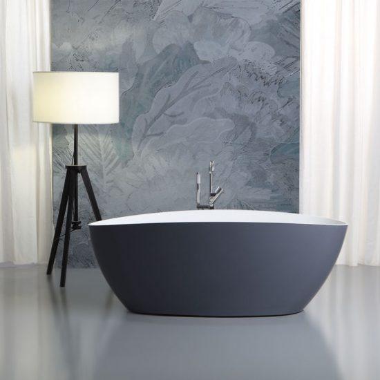 Vasca da bagno centro stanza, dimensioni e forme disponibili