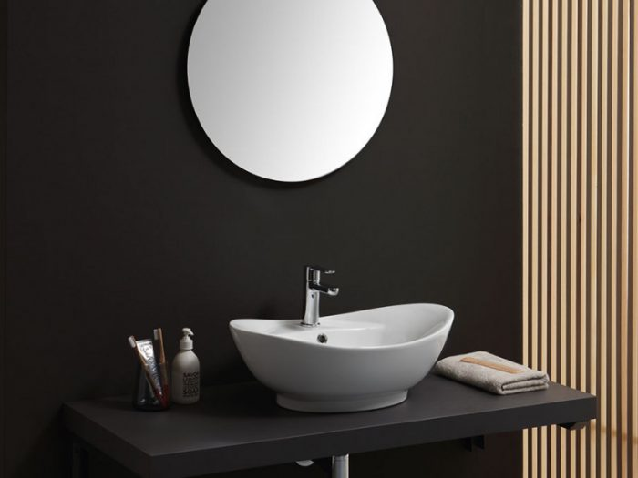 lavabo d'arredo ovale