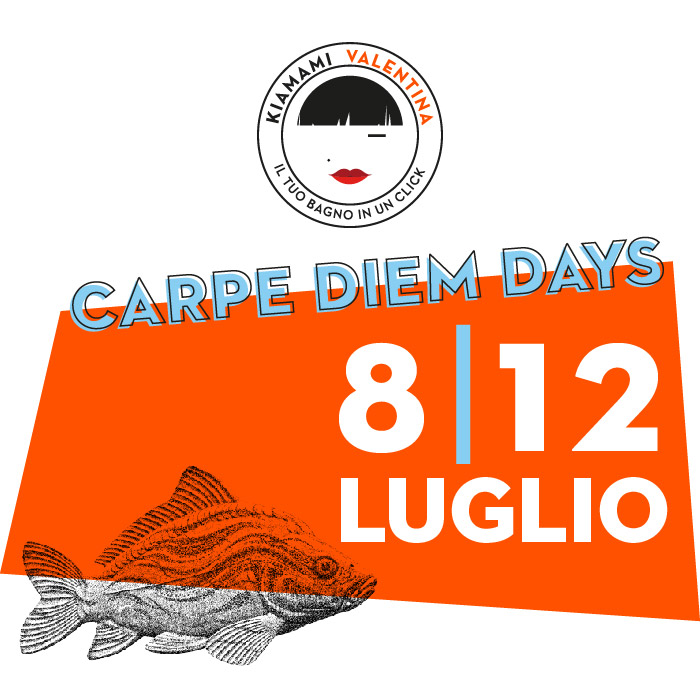 Carpe Diem Days luglio 2019 - sconti estivi