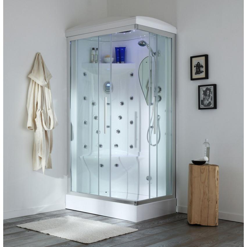 box doccia multifunzione Iride 70x110 con sauna