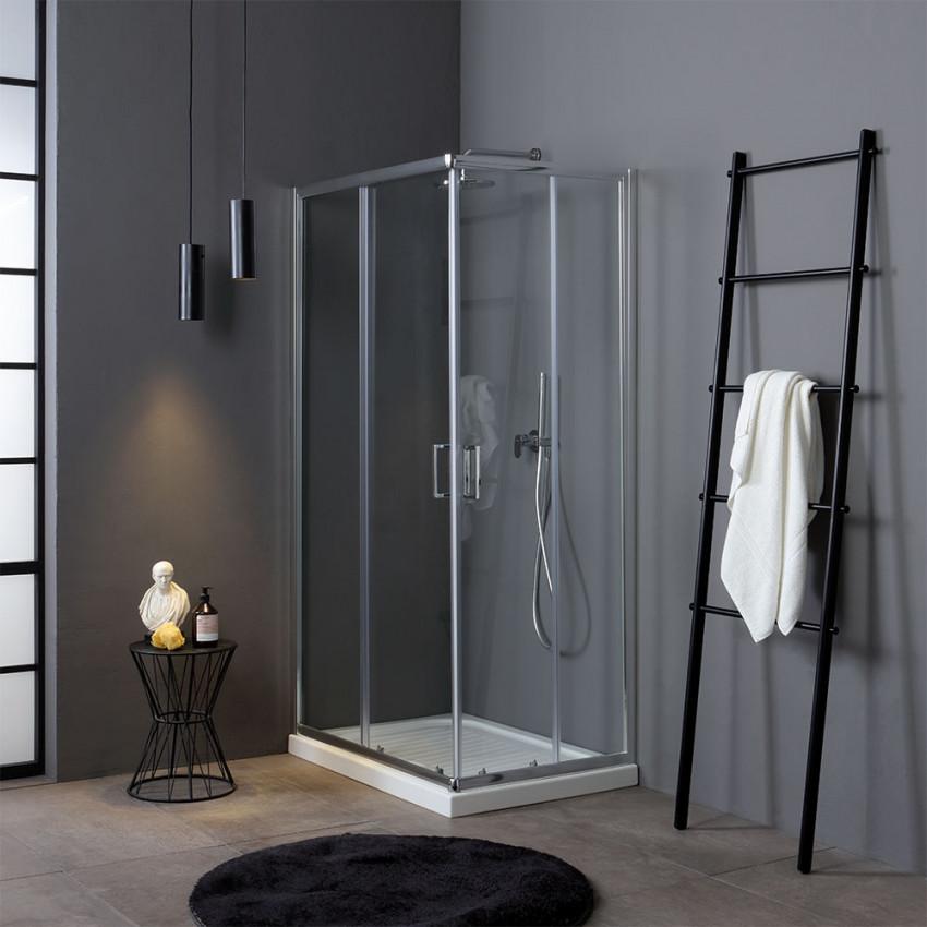 box doccia con vetro temperato