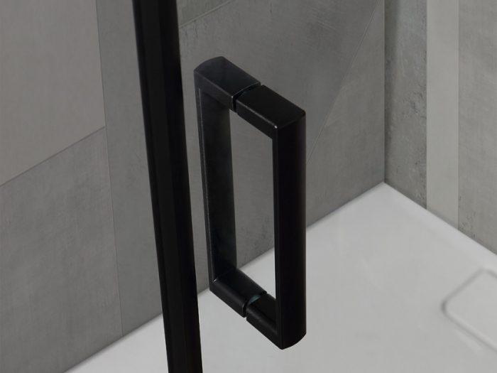 Maniglia doccia nera