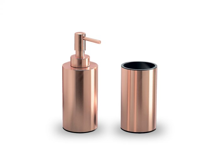 set per lavabo Copper