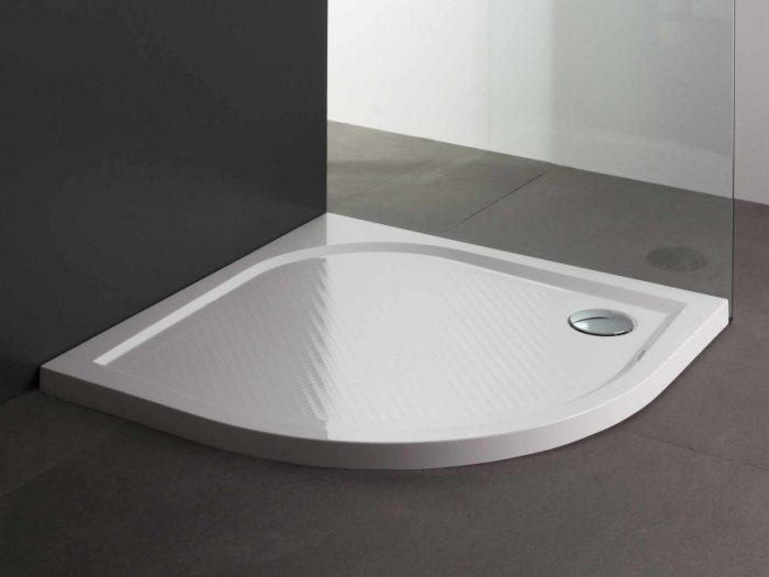 piatto doccia semicircolare 55 cm