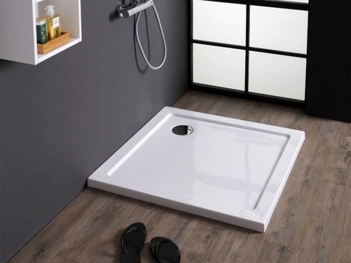 piatto doccia acrilico 90x90