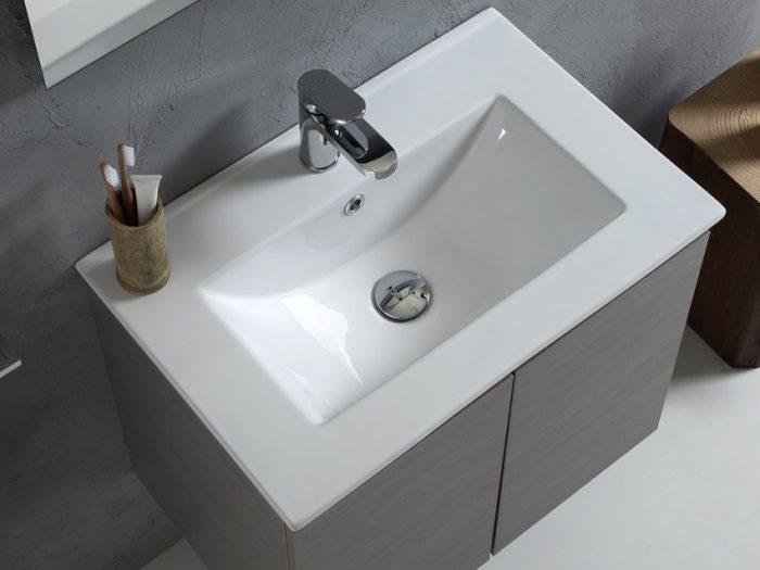 lavabo integrato nel mobile