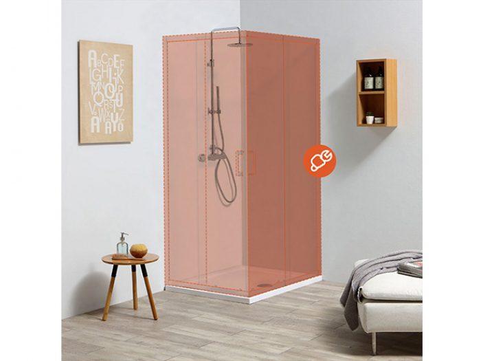 Box doccia configurabile Leo
