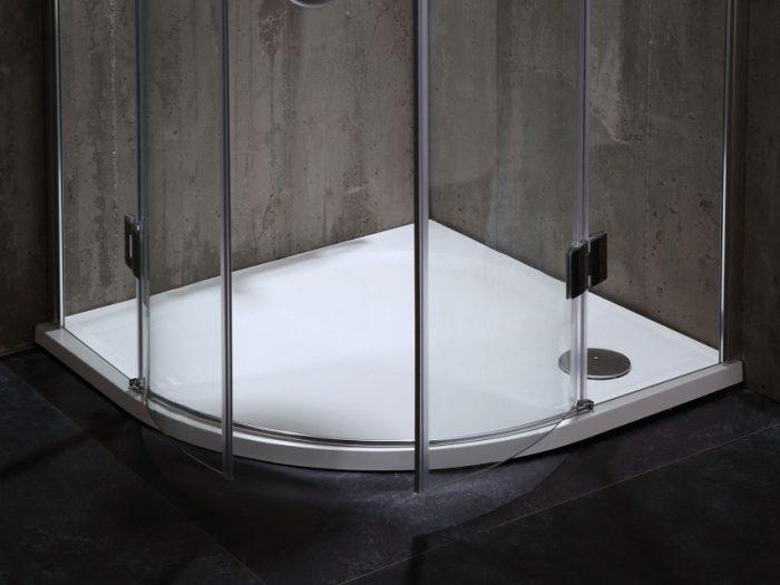 box doccia senza telaio ad anta battente