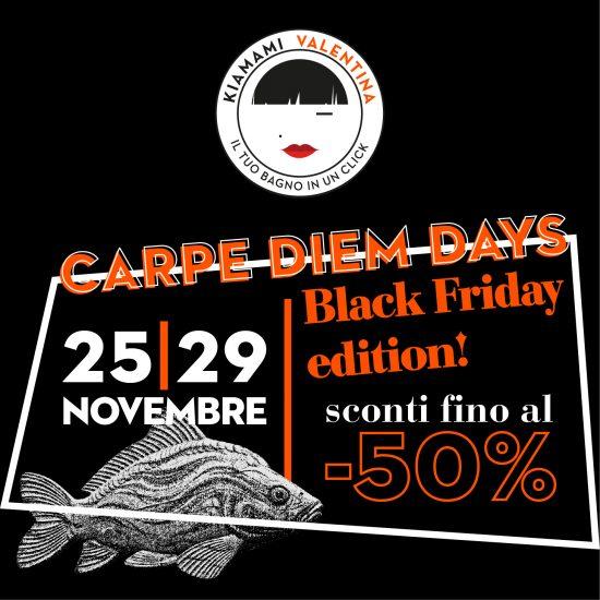 BLACK FRIDAY DEL BAGNO: 25 – 29 NOVEMBRE 2020!