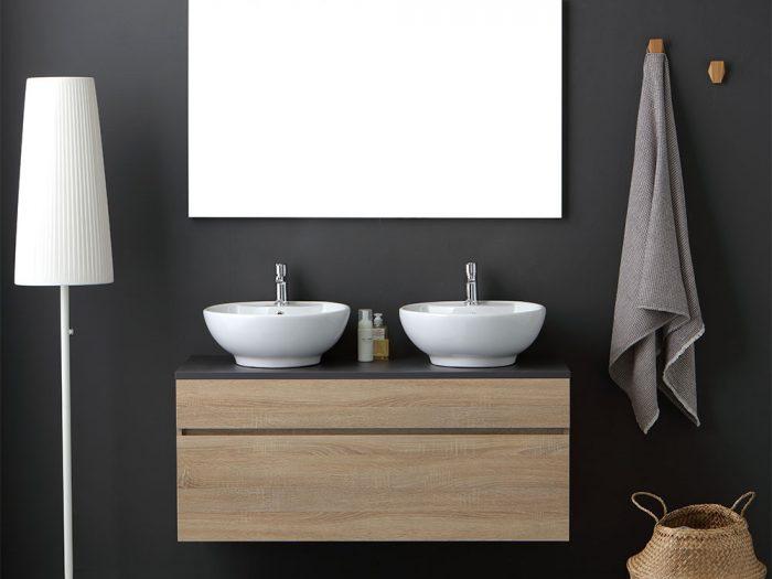 Mobile Sole 120cm con doppio lavabo