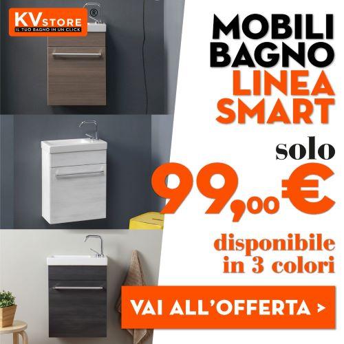 promozioni mobili lavabo salvaspazio Smart