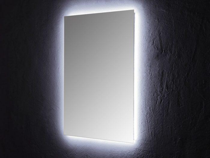 Specchio retroilluminato a led 80x60