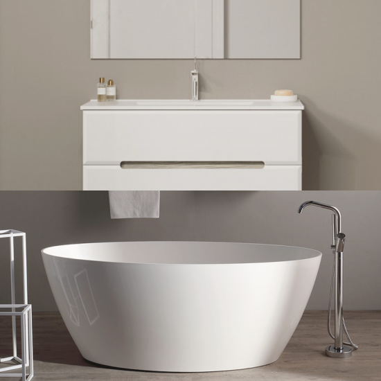 """Arredare il bagno in stile """"Slow"""" con le promozioni di KVstore!"""