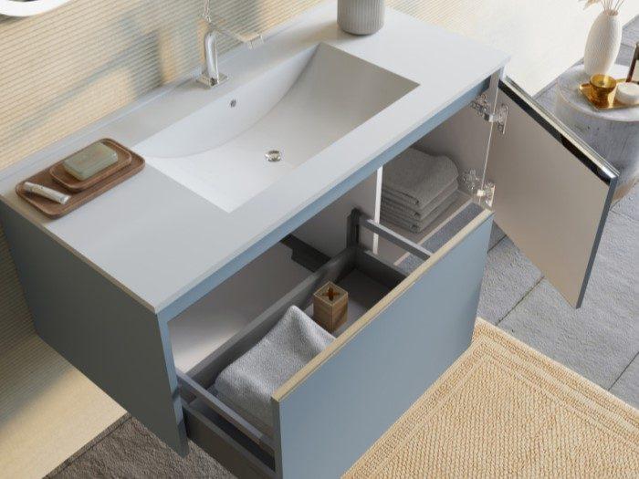 Mobile bagno Monaco blu pastello