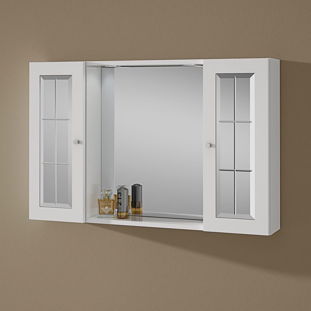 specchiera arredo bagno modello tiziana 2 ante ebay