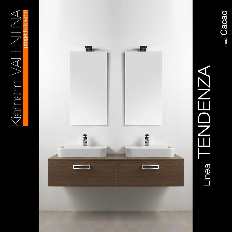 Arredo bagno moderno doppio lavabo [tibonia.net]