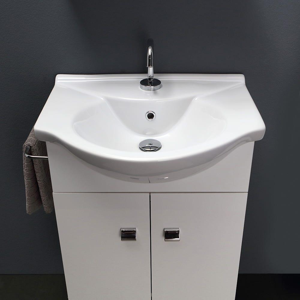 Lavabo Bagno Piccolo Misure specchio e luce amaranto 58 cm muebles arredo bagno piccolo
