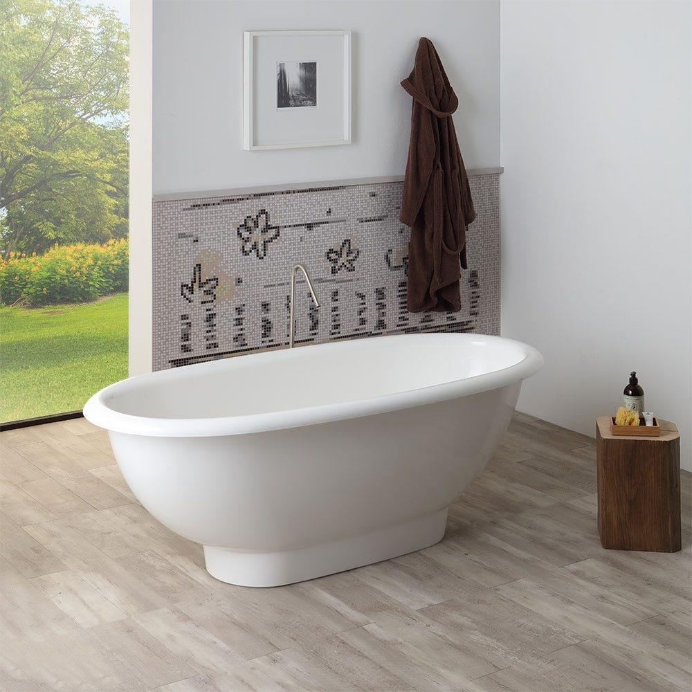 Vasca da bagno in marmo ricomposto modello roberta di ottima qualit e design ebay - Vasche da bagno dolomite ...