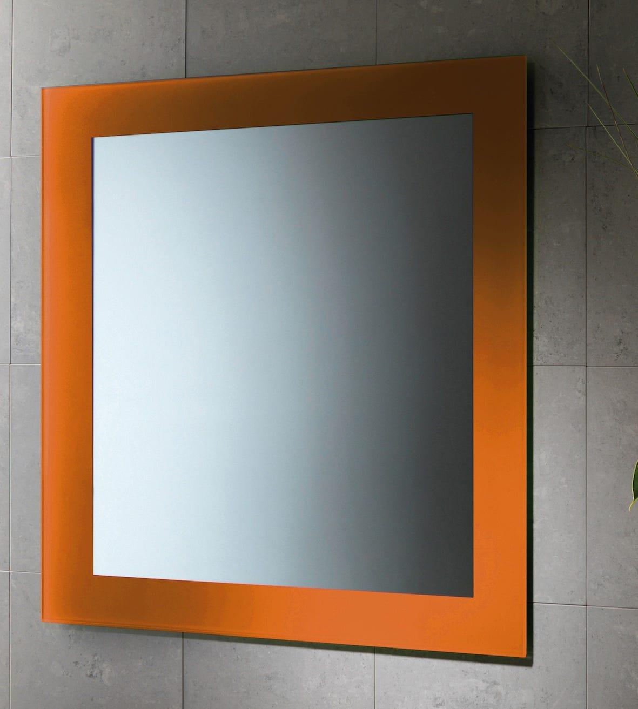 specchio da bagno 60 x 70 cm cornice laccata modello magic ... - Specchio Bagno Ebay