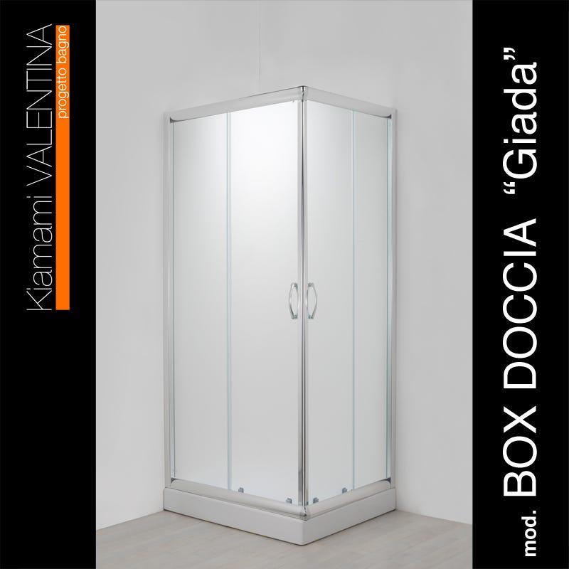 Box Doccia Modello Giada 70x90 Cristallo Opaco Ebay