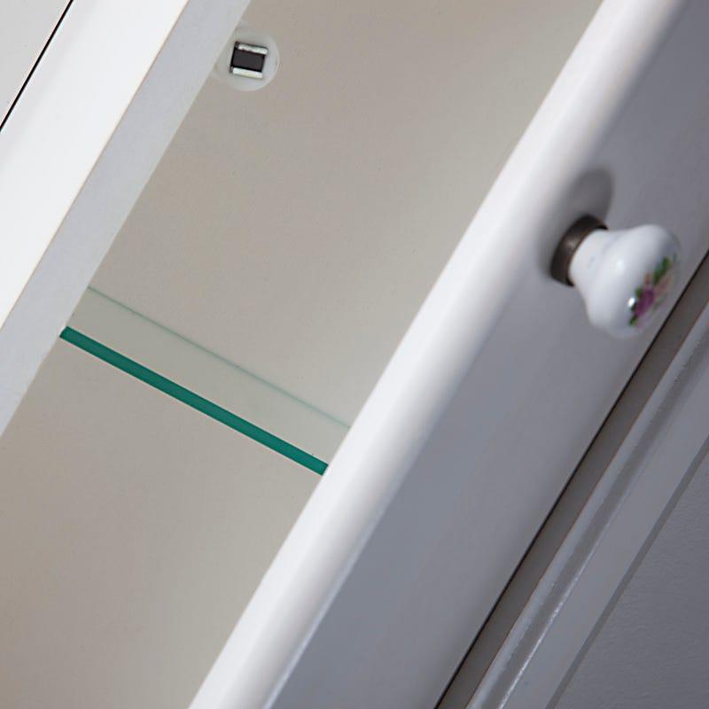Specchiera Bagno Mensoline Legno Glamour : Mobile arredo bagno decape lavanda ebay