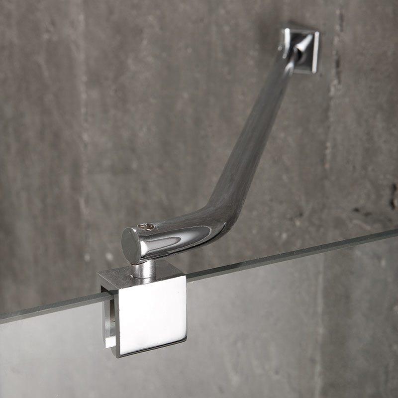 Box doccia semicircolare 90x90 in cristallo 6 mm senza - Box doccia senza telaio ...
