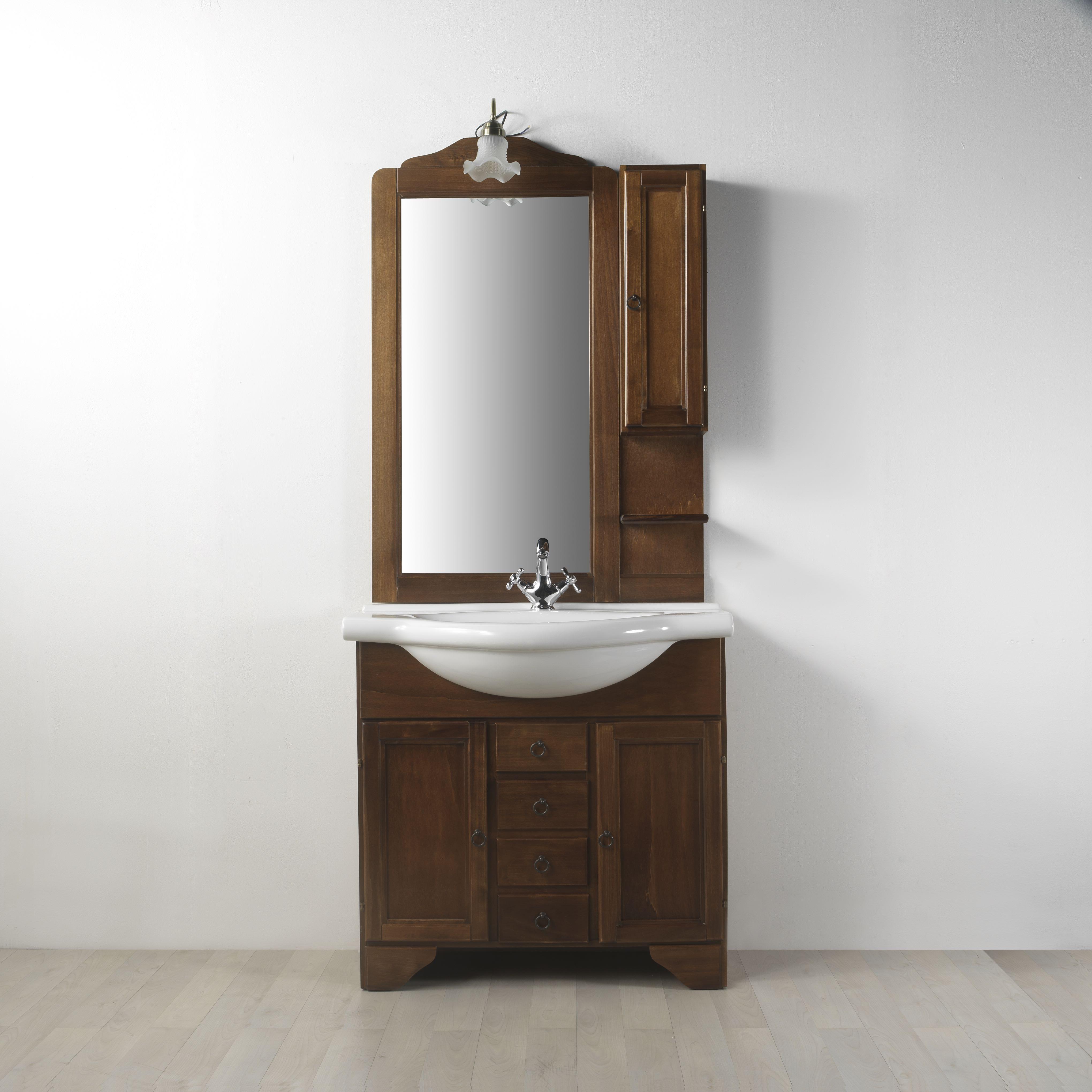 Mobile arredo bagno in arte povera lavanda da 85 cm eur - Arredo bagno arte povera ...