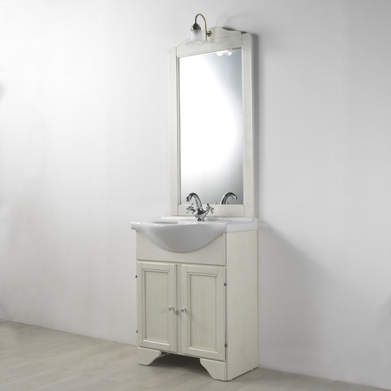 Mobile arredo bagno decape 39 lavanda 76 ebay for Arredo shabby economico